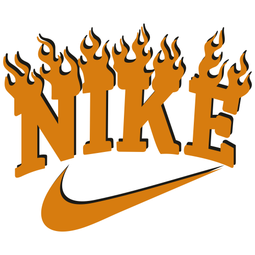 Nike Fire Logo Svg