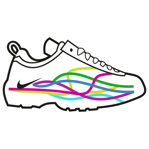 Nike Sports Shoes Svg