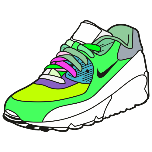 Nike Shoes Svg
