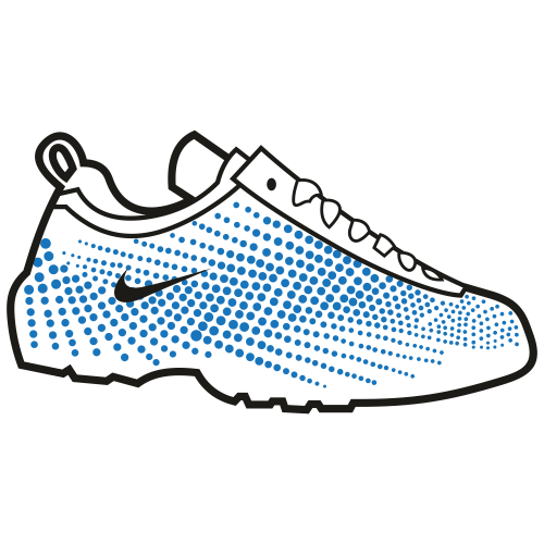 Nike Branded Shoes Svg