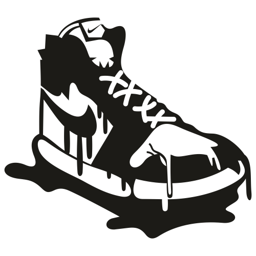 Nike Sneaker Shoes Svg