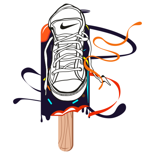 Nike Sports Shoes Clipart