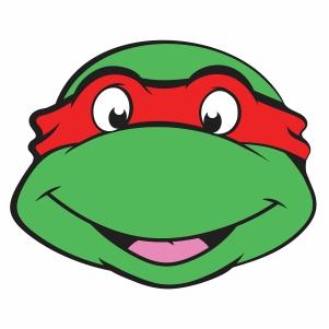 Ninja Turtles Face Vector