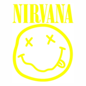 Nirvana Smiley Face Vector