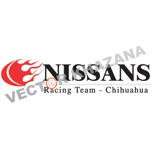 Nissan Drag Racing Logo Vector