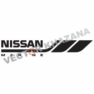 Nissan Marine Logo Vector
