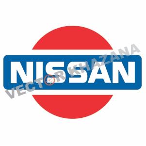 Nissan Retro Logo Vector