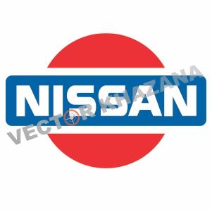Nissan Retro Logo Svg