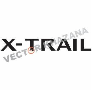 Nissan X-Trail Logo Vector