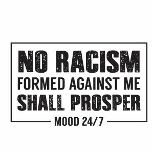 No Racism Svg