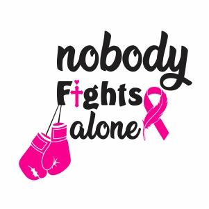 Nobody Fight Alone Svg