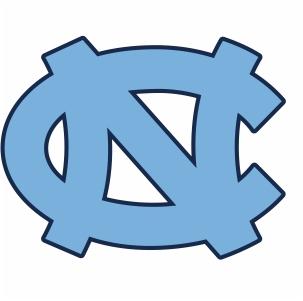 North Carolina Tar Heels Logo Vector
