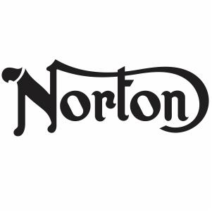 Norton Harley Davidson motorcycle svg