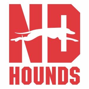 Notre Dame Hounds Logo Svg