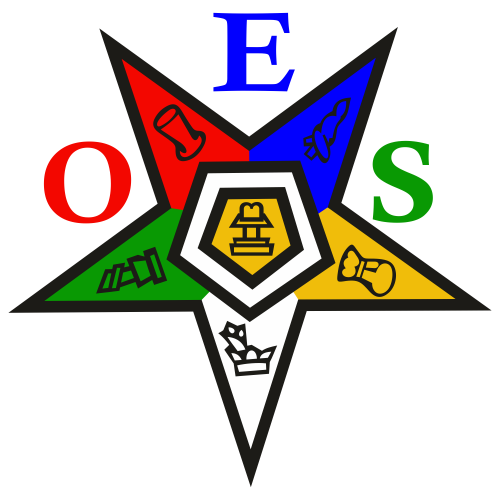 OES Order of the Eastern Star Svg