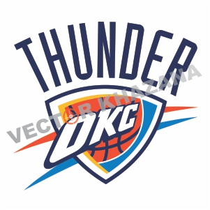 Oklahoma City Thunder Logo Vector