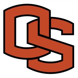 Oregon State Beavers logo vector image