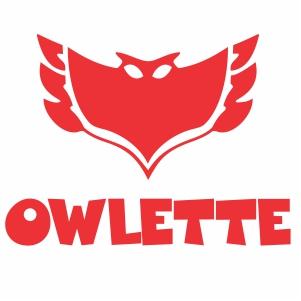 Pj Masks Owlette Logo Vector