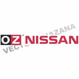 OZ Nissan Logo Vector