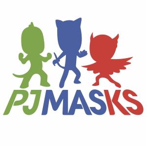 PJ Masks svg cut file
