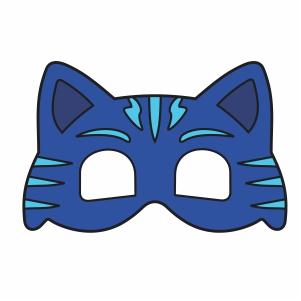 Pj Catboy Mask Vector