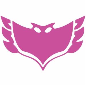 Owlette Crest Vector