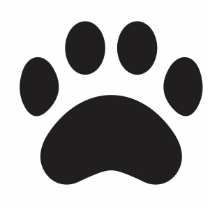 Paw Print vector file