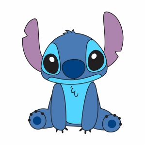 Cute Stitch vector