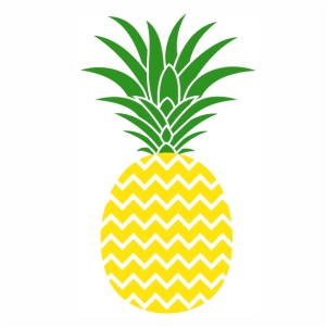 Yellow Emoji Pineapple vector