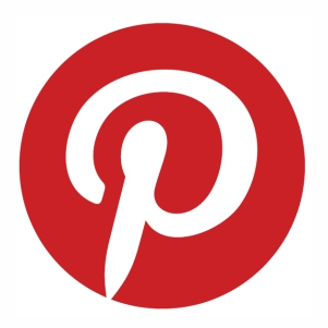 Pinterest logo svg