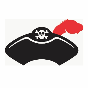 Pirate Hat Clipart Svg