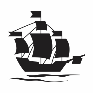 Pirate Ship Svg