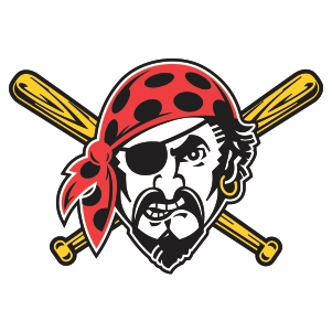 Pittsbug Pirates Man Logo Svg