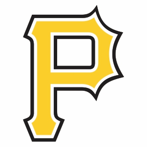 Pittsbug Pirates P Logo Cut