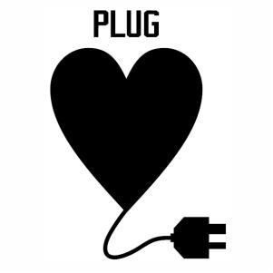 heart Plug vector file