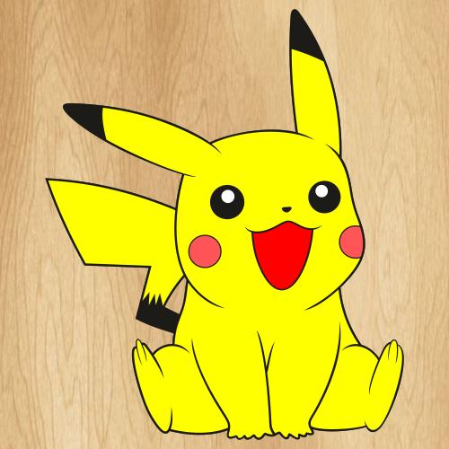 Pokemon Pikachu Logo Svg
