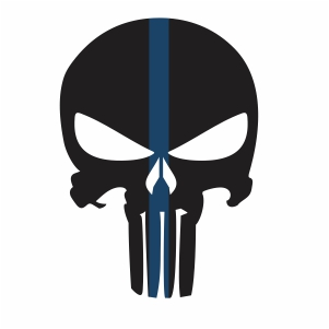 Police Punisher Vector