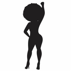 Curvy Woman Vector