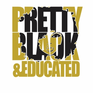 Pretty Black And Educated Clipart