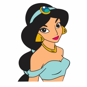 Princess Jasmine Vector