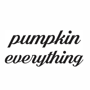 Pumpkin Everything Vector
