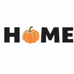 Pumpkin Home Svg