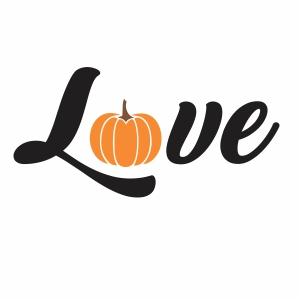 Pumpkin Love Svg