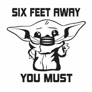 Yoda Feet Vector