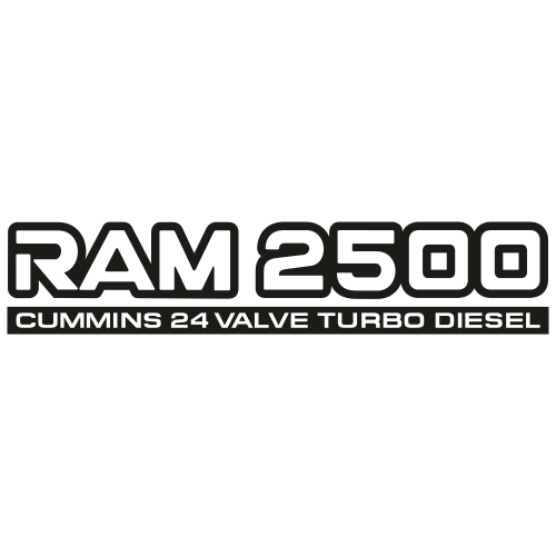 Ram 2500 Svg