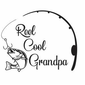 Download Grandpa Fishing Svg Reel Cool Fishing Grandpa Svg Svg Dxf Eps Pdf Png Cricut Silhouette Cutting File Vector Clipart