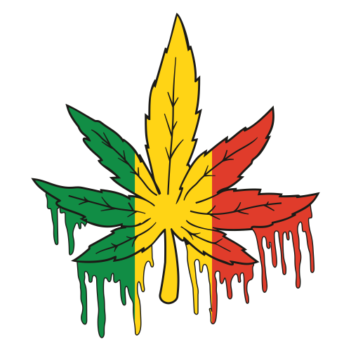 Marijuana Leaf Svg