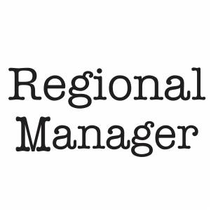 Regional Manager Svg