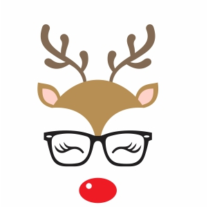Cartoon Deer Svg