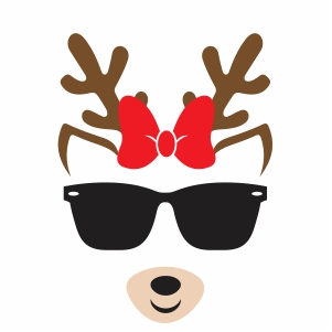 Cool Deer Svg